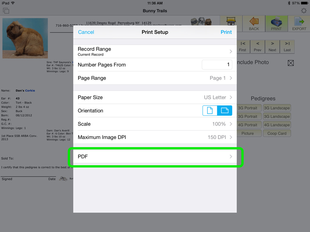 how to save pdf file in wechat through iphone